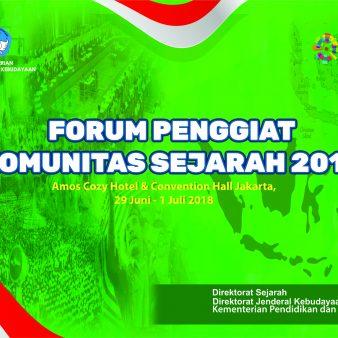 Forum Penggiat Sejarah 2018