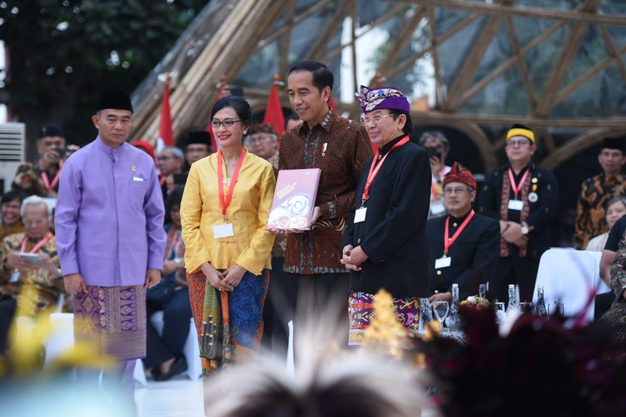 Presiden Terima Dokumen Strategi Kebudayaan