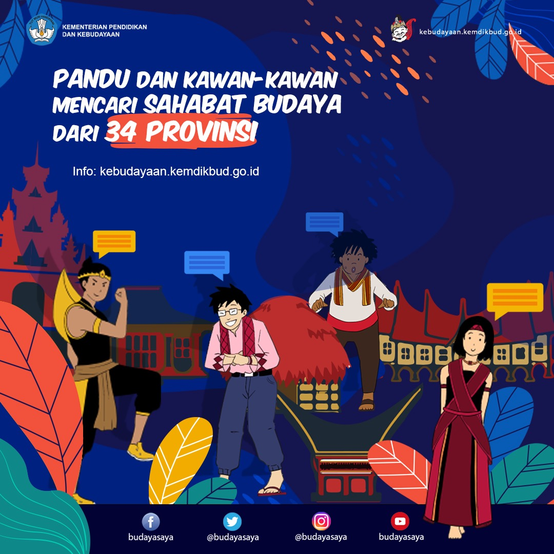 You are currently viewing Seleksi 34 Sahabat Pandu Budayasaya