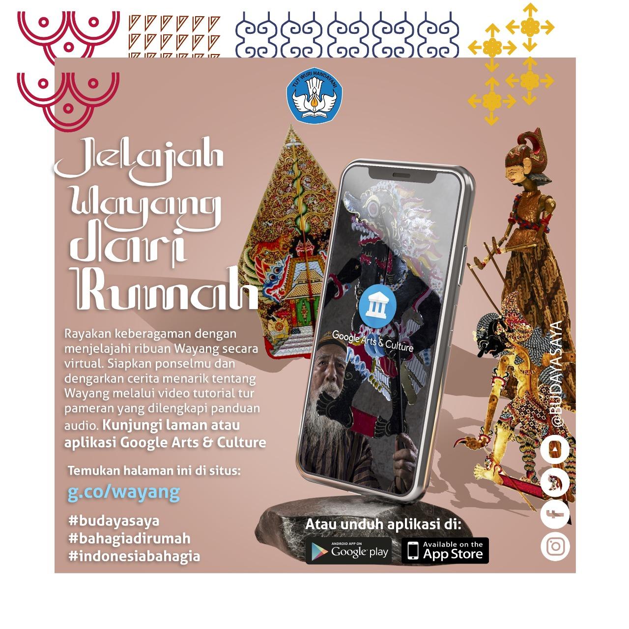 Read more about the article Melestarikan Wayang, Mahakarya Budaya dan Tradisi Indonesia, Secara Digital