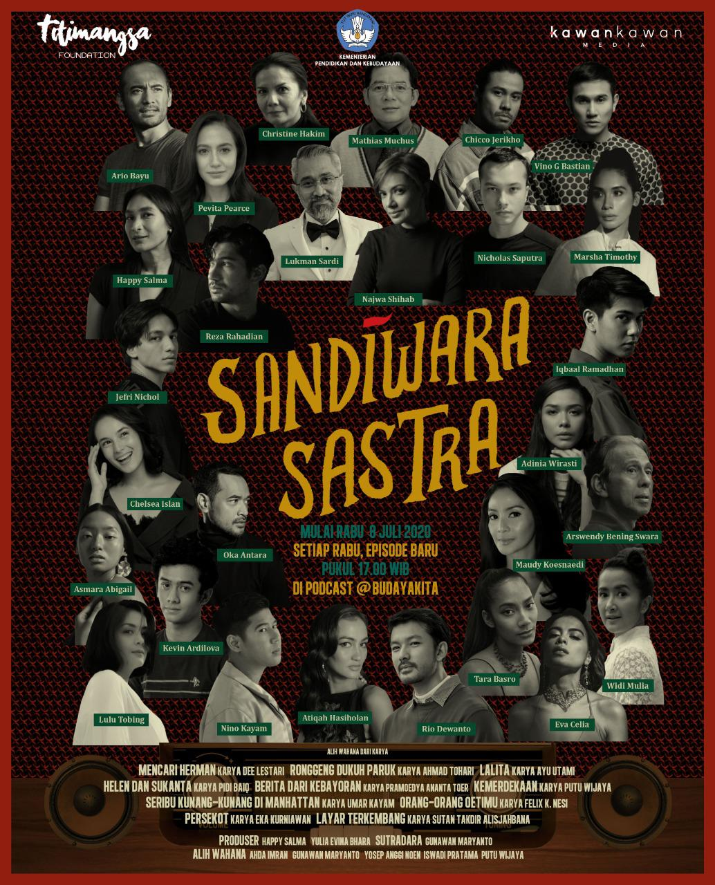Read more about the article Sandiwara Sastra, Angkat Literasi Karya Sastra Indonesia