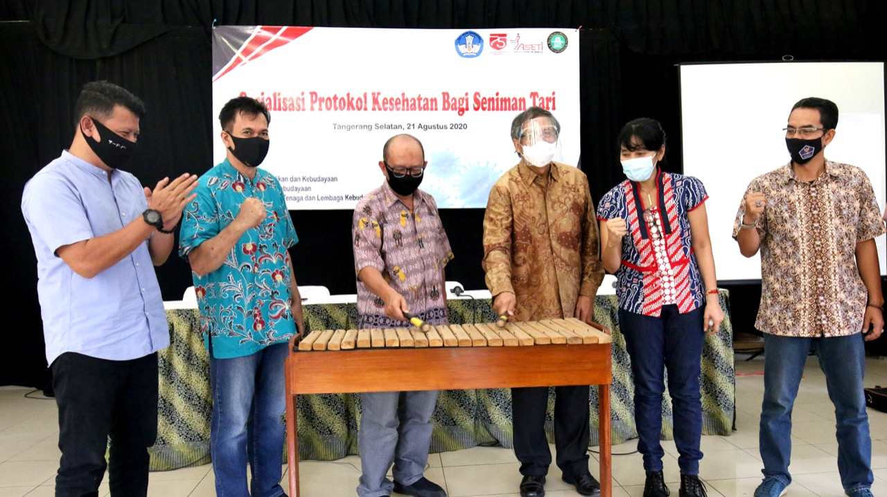 Read more about the article SIARAN PERS –  Adaptasi Panggung Pertunjukan di Tengah Pandemi